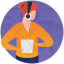 Music Lover Listening Music Music App Icon