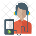 Listening Music Music Animation Audio Music Icon