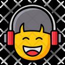 Headphones Headset Listening Music Icon