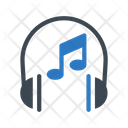 Music Headphone Audio Icon