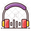 Listening Music Headphones Headset Icon