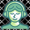 Listening Music Icon