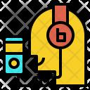 Listening Music Audio Icon