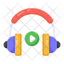 Listening Video Music Icon
