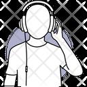Listing Music Music Headphone Icon