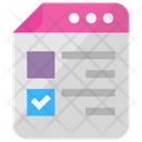 Listing Template Layout Icon