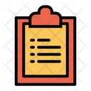 Clipboard List Page List Icon