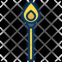 Lit Match Match Fire Icon