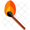 Lit Match Sticks Icon