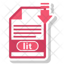 Lit File Format Icon