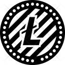 Litecoin Ltc Virtual Icon