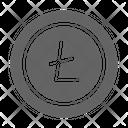 Litecoin Cryptocurrency Blockchain Icon