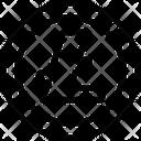 Litecoin Coin Blockchain Icon