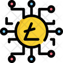 Litecoin Currency Bitcoin Icon