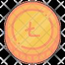 Cryptocurrency Digital Ltc Icon