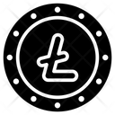 Litecoin Currency Coin Icon