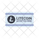 Litecoin Accepted Icon