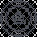 Litecoin Ltc Blockchain Icon