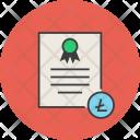 Litecoin Trade Business Icon