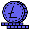 Litecoin Cryptocurrency Digital Money Icon