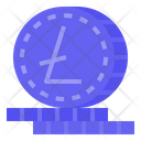 Litecoin Cryptocurrency Digital Money Icon