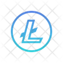 Litecoin Digital Coin Icon