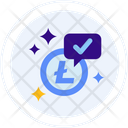 Litecoin accepted here Icon