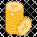 Litecoins Stack Internet Money Digital Money Icon
