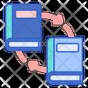 Literature Exchange Transfer File Transfer Document Icon