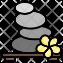 Lithotherapy Beauty Salon Stones Icon
