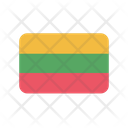Lithuania Flag Country Icon