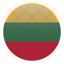 Lithuania Europe Flag Icon