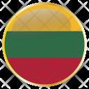 Lithuania Ltu Europe Icon