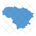 Lithuania Map Icon