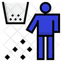 Litter Trash Rubbish Icon