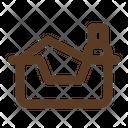 Litter Box Cat Litter Box Litter Icon
