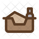 Litter Box Icon