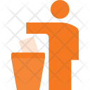 Litter Person Icon