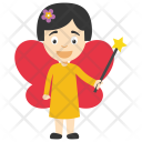 Fairy Baby Wings Icon