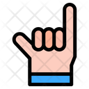 Little Finger Hand Hands And Gestures Icon