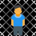 Little Person Man Icon