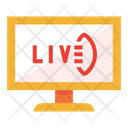 Live Live Broadcast Live Match Icon