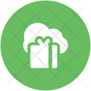 Live Broadcasting Cloud Icon
