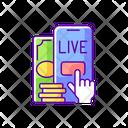 Live Betting Virtual Icon
