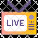 Live Broadcast Icon