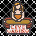 Live Casino Casino Casino Game Icon