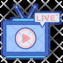Live Channel Tv Live Stream Icon