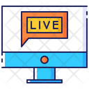 Chat Communication Live Icon