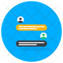 Chat Room Live Chat Online Chat Icon