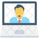 Video Call Conference Icon